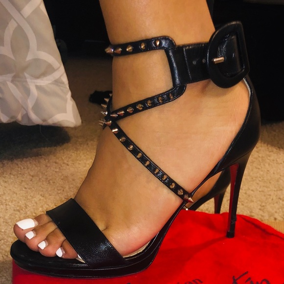 Christian Louboutin Choca Lux Spiked
